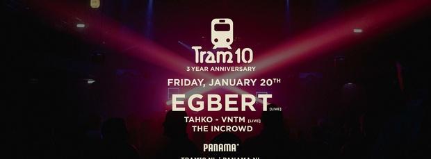 Tram 10 3 Year Anniversary