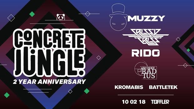 Concrete Jungle 2 Year Anniversary